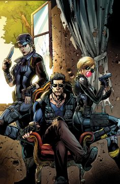 Mortal Kombat X #7 The Cage Family