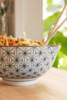 Printed Rice Bowls Set - Urban Outfitters
