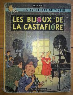 HERGE - TINTIN - LES BIJOUX DE LA CASTAFIORE EO B34 | eBay