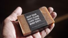 The Man Soap on Packaging of the World - Creative Package Design Gallery