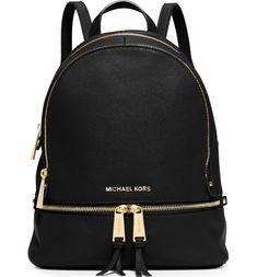 86b07b84232dd MICHAEL Michael Kors 'Extra Small Rhea Zip' Leather Backpack | Nordstrom