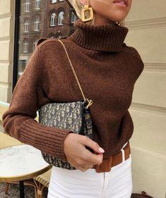 9 perfekte Pullover für den Herbst - Winter Outfits for Work - Mode İdeen Look Fashion, Skirt Fashion, Fashion Outfits, Womens Fashion, Fashion Trends, Fashion 2016, Ladies Fashion, Fashion Clothes, Fall Fashion