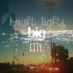 ....she dreams of love. Bright lights, Big city..he lives to run.