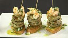 Receta de Champiñones estilo Laurel elaborada por el cocinero Ander González y la nutricionista Gabriela Uriarte en el programa 'A Bocados' de ETB2.
