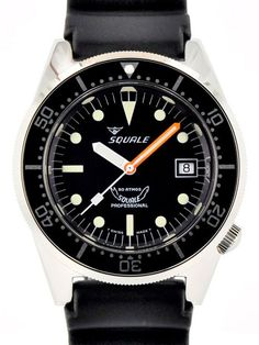 Squale 1521-026-A Swiss Automatic Professional Dive Watch