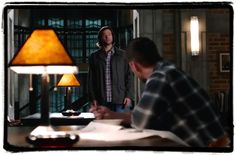 Sam and Dean back at bunker Supernatural Inside Man | The ...