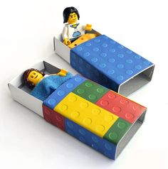 Beds for Lego figures
