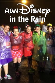 Rain at runDisney can be a total bummer. Those of us who survived the 2014 Wine & Dine (aka Splash & Dash) Half Marathon knows this quite well! Disney Races, Run Disney, Disney Love, Disney Running, Disney Style, Walt Disney, Disney Princess Half Marathon, Disney Marathon, Running In The Rain