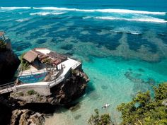 I think this is the best beach in Bali, Blue Point Beach