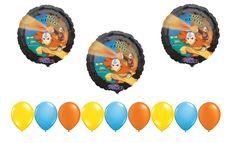 Avatar Last Airbender Birthday Balloons Rose Gold Balloons, Mylar Balloons, Baby Shower Balloons, Latex Balloons, Balloon Backdrop, Balloon Columns, The Balloon, Balloon Decorations, Graduation Balloons