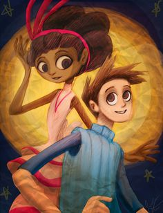 Brokenage Vella and Shay by jameson9101322 on DeviantArt