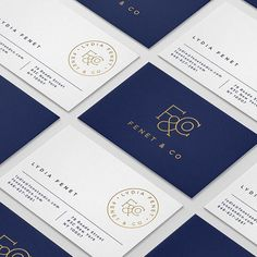 F&CO Business Cards | Serafini Creative