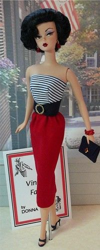 Fashions Inspired from Vintage Barbie Outfits