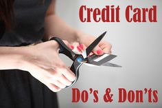 How not to use your credit card, but rather save yourself from unnecessary debt. #ClearPathLending #CreditCards #Debt