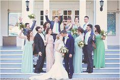 Photography: K Thompson Photography Ceremony and Reception Venue: Royal Canadia. Yacht Wedding, Wedding Girl, Wedding Tags, Wedding Ideas, Toronto Wedding, Yacht Club, Bridesmaid Dresses, Wedding Dresses, Real Weddings