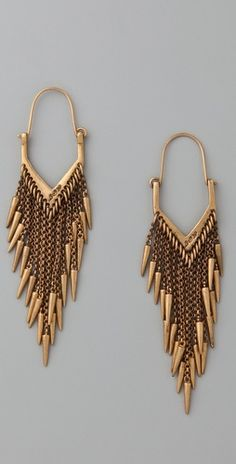 Great earrings!