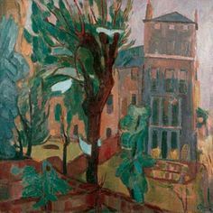 Cave to Canvas, Martin Bloch, Hampstead Hill Gardens, 1943