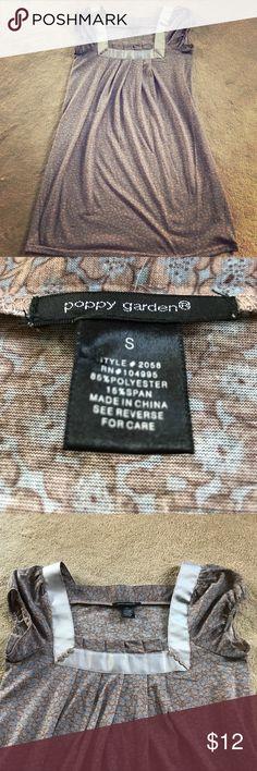 Poppy Garden dress Adorable, comfy dress by Poppy Garden.  Worn once! Poppy Garden Dresses