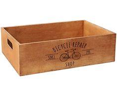 Ящик для хранения - дерево, 30х45х15 см