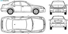 Car blueprints website - AMAZING resource for making car cakes! Get views from all different angles - search by make & model!