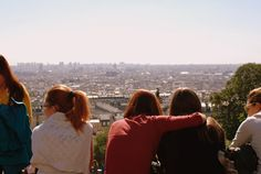 View on Paris, from the Sacre Coeur steps in Paris (photo by @Stephen McElhinney Bugno )