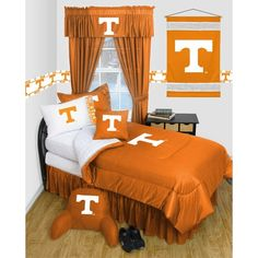 Use this Exclusive coupon code: PINFIVE to receive an additional 5% off the University of Tennessee Locker Room Bedding / Accessories Set at SportsFansPlus.com
