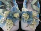 Decorated pointe shoes 6444