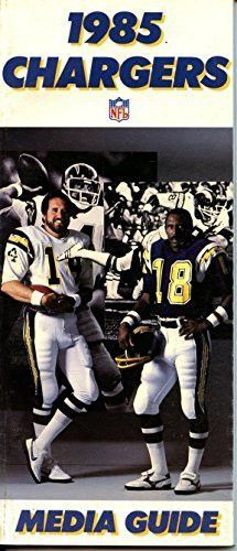 1985 San Diego Chargers Media Guide                                                                                                                                                                                 More