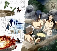 How to make hot spring! #hashirama #tobirama #madara