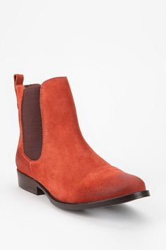 Jeffrey Campbell Chelsea Suede Ankle Boot