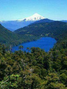 lago tinquilco. region de la araucania
