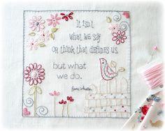 Jane Austen and wise words...