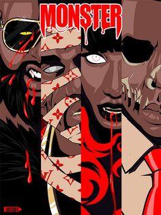 kanye west jay z nicki minaj monster download