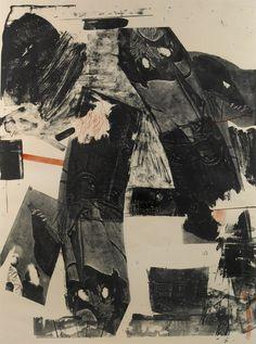 Front Roll —lithograph by Robert Rauschenberg, 1964(viamelisaki)