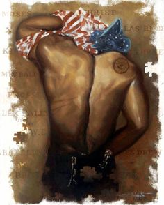 Unknown Soldier male - 26x22 limited edition print - Edwin Lester