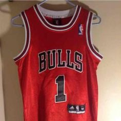 b8b34272b EXC Adidas ROSE Bulls Jersey NBA Youth Rose Bulls