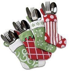 stockings for place settings - Stocking Idea for T