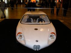 A Colani-BMW 700, the world's first car with a self-supporting plastic monocoque car body, 1963 Luigi Colani