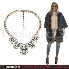 Tanto para una cena como para ir a la oficina, con el collar de cristales Agatha irás sensacional ★ 14,95 € en https://www.conjuntados.com/es/collar-de-cristales-transparentes.html ★ #novedades #collar #necklace #conjuntados #conjuntada #joyitas #lowcost #jewelry #bisutería #bijoux #accesorios #complementos #moda #fashion #fashionadicct #picoftheday #outfit #estilo #style #GustosParaTodas #ParaTodosLosGustos