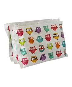 Look what I found on #zulily! Owl Cool Pack - Set of Three by Bentology #zulilyfinds