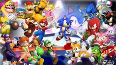Mario and Sonic | Mario + sonic at the olympic games 2012 london BG by infersaime on ...