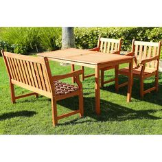 Found it at Wayfair - Harpers 4-Piece Dining Set