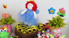 Jardim encantado. Dona Maricota Festas Criativas e Sustentáveis.