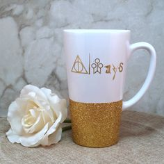 """Always"" Harry Potter Inspired Silhouette Coffee Mug"