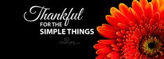 Download Simple Things - Christian Facebook Cover & Banner
