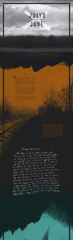 Visually stunning One Pager hosting a story by author Kyle Keen, called July's June. The Single Page website features a beautiful blend of big images, whitespace and mixed typography. Unfortunately the Viewport-Sized Typography isn't optimized for mobile but really shines on larger screens.
