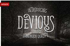 Devious Typeface - Display