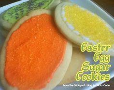 Easter egg Sugar Cookies (with poem)