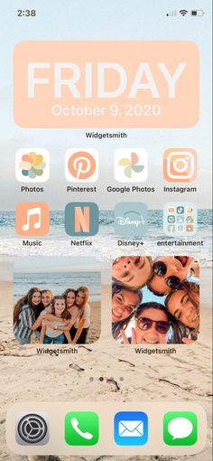 Home Screen using my app covers!!