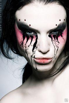 Halloween makeup #halloween #makeup